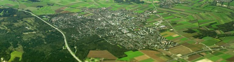 Karte von Germering