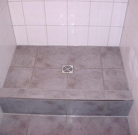 Badsanierung - Begehbare Dusche